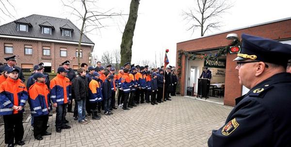 Februar 2011: Neues Zuhause für die Jugendfeuerwehr Kranenburg