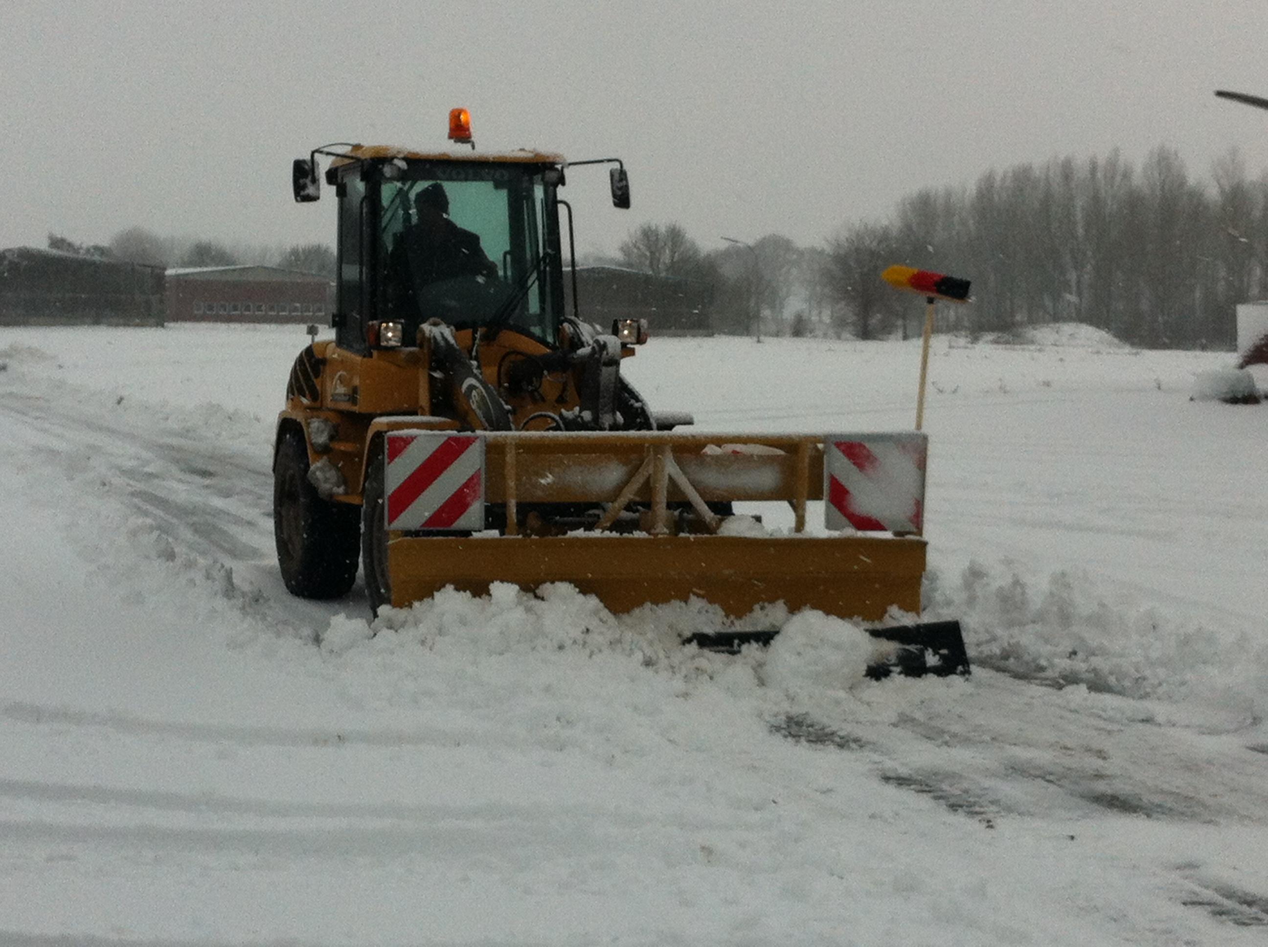 Dezember 2012: Winterdienst