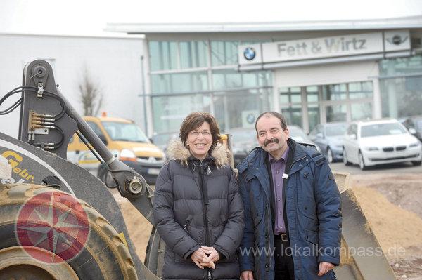 März 2013: Fett&Wirtz baut Klever Standort aus