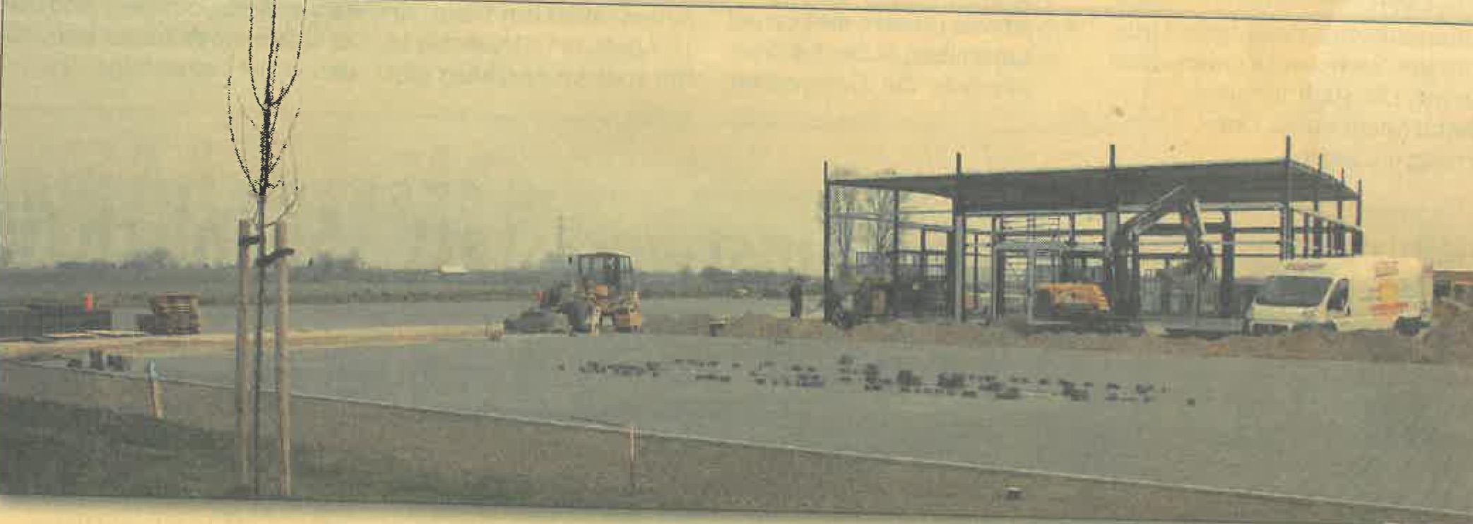 Neues Autohaus wird im Juni fertig gestellt