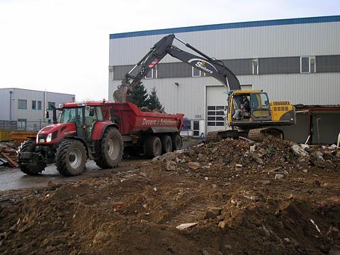 Abbruch Bürogebäude in Kleve