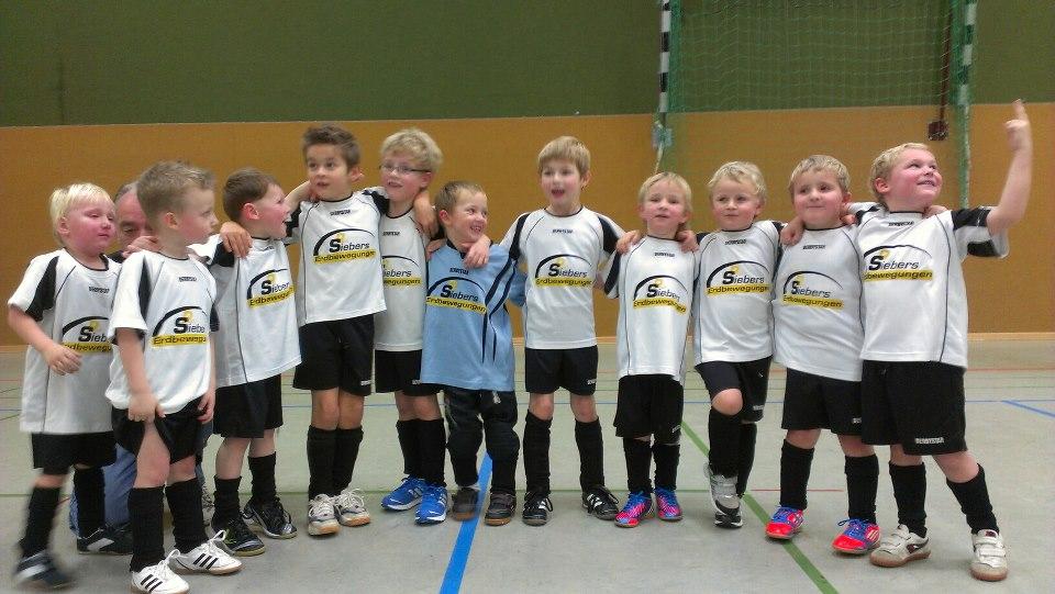 Trikotsponsoring Bambini SV Nütterden 2012