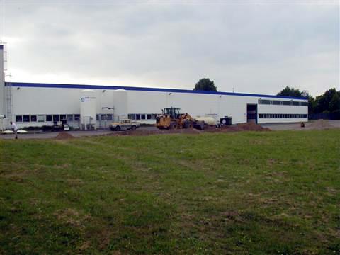 Abbruch Industriehalle in Kleve
