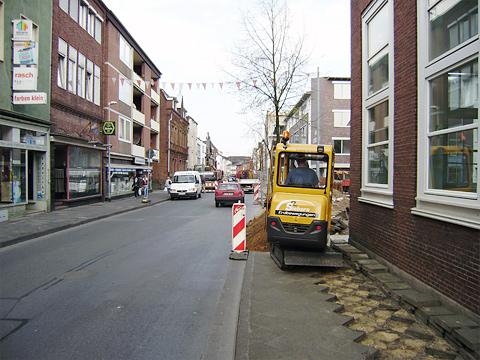 Telekommunikationsleitung in Kleve