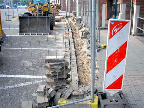 Sanierung Fußgängerzone in Kleve