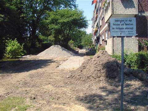 Kanalanschluss Mehrfamilienhäuser in Kleve