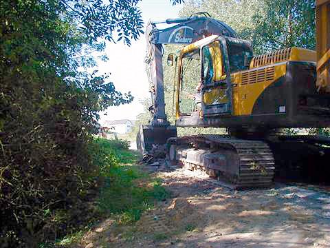 Sanierung Straßenunterbau in Kleve