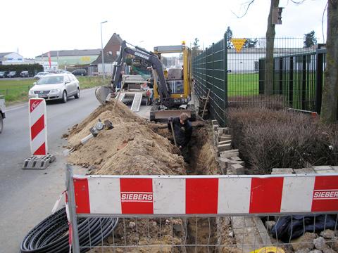 Telekommunikationsleitung in Bocholt
