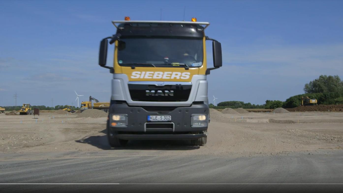 Transport, Spedition, Entsorgung - Kleve, Goch, Kranenburg - Gebrüder Siebers Tiefbau GmbH