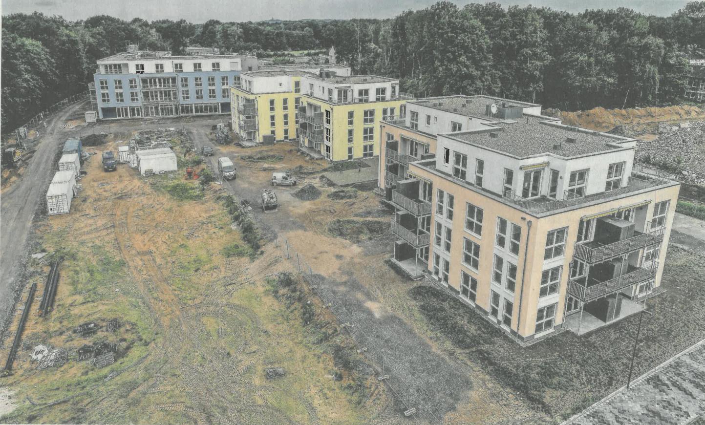 Kaserne: Pflegezentrum bald fertg