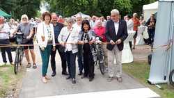 Eröffnung der Europa-RadBahn