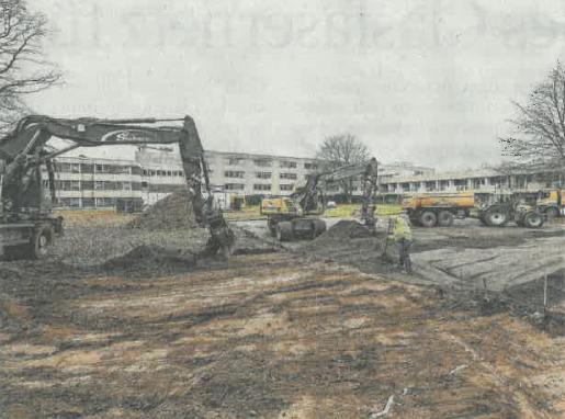Gocher Krankenhaus baut Hubschrauberlandeplatz