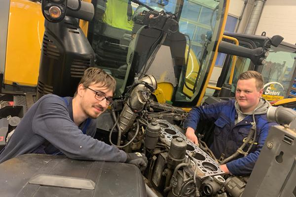 Ausbildung Land und Baumaschinenmechatroniker -Gebrüder Siebers Tiefbau GmbH - Kleve,Goch,Kranenburg