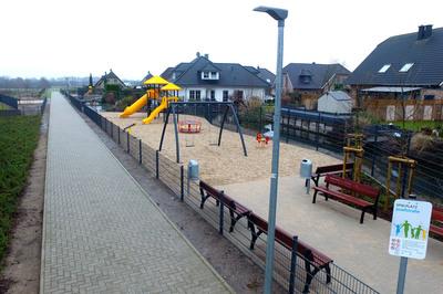 Kessels neuer Spielplatz ist fertig