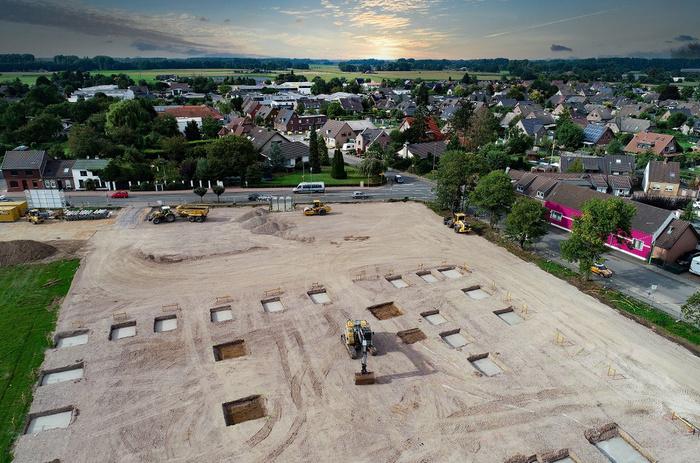 Baustart für den neuen Edeka-Markt
